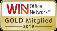 winwin Mitgliedsabzeichen gold