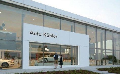 Das Firmengebäude der Firma Auto Köhler