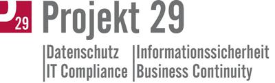 Projekt 20 - Logo (Datenschutz | Informationssicherheit | IT Compilance | Business Continuity)